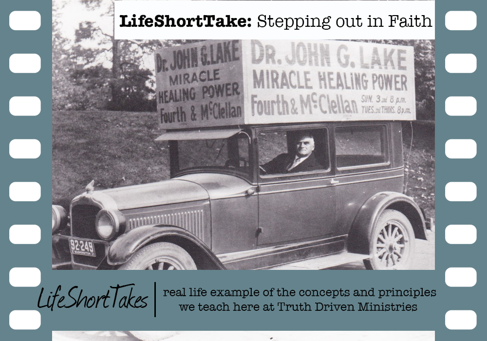 Life Short Take: Stepping Out In Faith