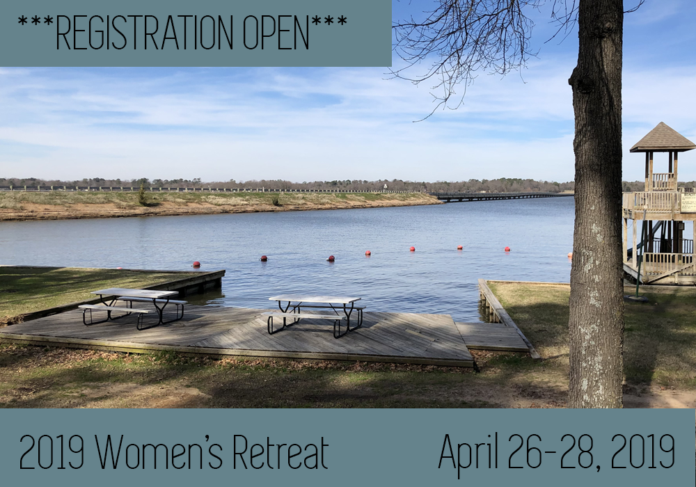 Registration is open! 2019 Women's Retreat