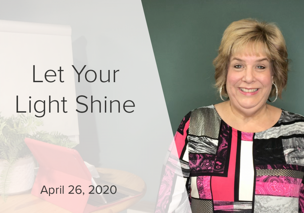 Live Stream | Let Your Light Shine