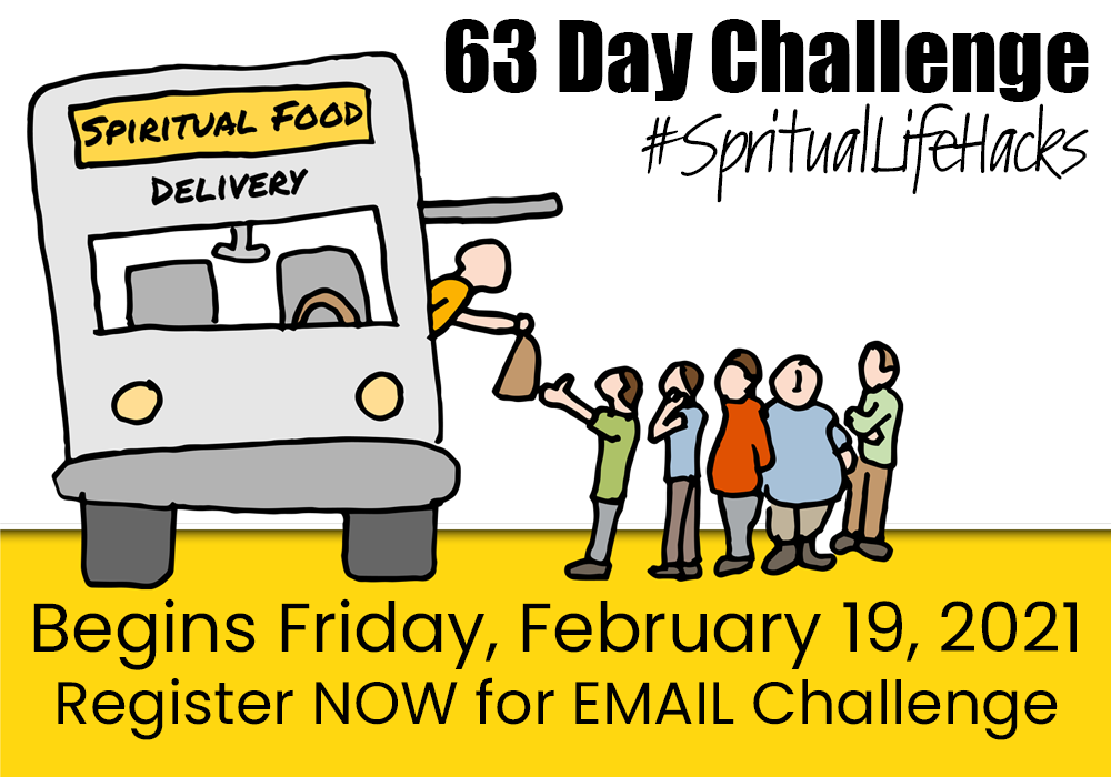 63 Day Challenge Begins Soon! Register Now.