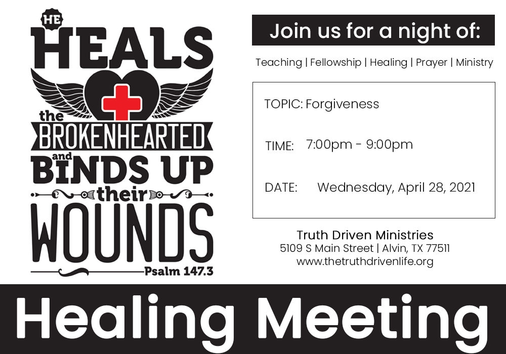 April Healing Meeting